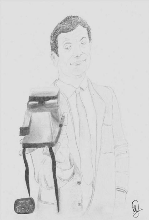Rowan Atkinson by MAYA.S